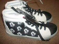 Esquire Disney Mickey Mouse Shoes High Top Sneakers Men's 9 NWOB  (B24)