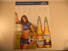 Corona Beer Poster NOS - Pin Up Sexy Soccer Calendar 2006 Light Extra
