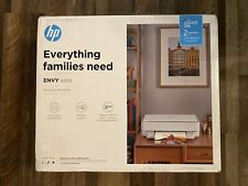 HP - ENVY 6055 Wireless All-In-One Instant Ink-Ready Inkjet Printer - White