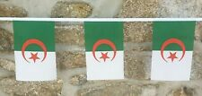 Algeria Flag Polyester Bunting - Various Lengths