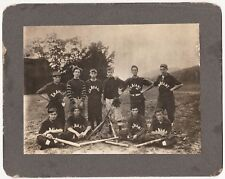 RARE Photo - En Avant Baseball Team - Minneapolis Minnesota  ca 1910 MN