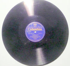 78 rpm 1 record N- BLUE WAX PRESSING:  WM. MENGELBERG - Bach's SINFONIA