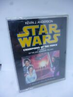 Star Wars Audio Cassette Tapes Kevin J Anderson New Sealed Very Rare Champions