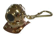 Scuba Diving Diver Key Chain KeyChain Dive Helmet Brass US Navy Maritime GP5000