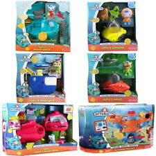 NEW Disney Jr Fisher-Price Octonauts Octopod & Vehicles Gup A B C D X Set of 6