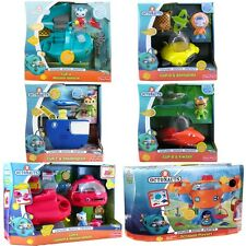 NEW Disney Jr Fisher-Price Octonauts Octopod & Vehicles Gup A B C D X Set of 6