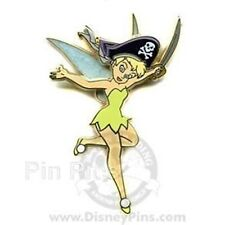DISNEY PIN TINKER BELL Pirate Life for Me Tinker Bell FRAMED SET Completer Pin
