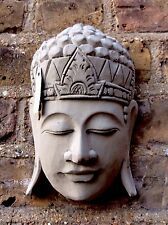 Divine Buddhas Head Wall Plaque..Exclusive & Unique From The Designer Sius