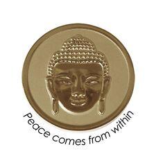 Quoins Münze QMOZ-04L-G gold Größe L Buddha