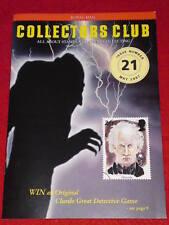 Royal Mail Collectors Club #21 - Dracula - May 1997
