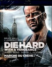 NEW BLU-RAY+ DVD // DIE HARD / WITH A VENGEANCE //Bruce Willis, Jeremy Irons, Sa