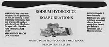 5 lbs 99.9% min Pure Food Grade Sodium Hydroxide, Caustic Soda, Lye, NaOH