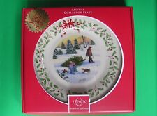 Lenox annual Holiday Plate for 2013 New in Box 1st Quality made in Usa