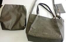 3pcs Women Leather Handbag Shoulder Bag Tote Purse Satchel Clutch