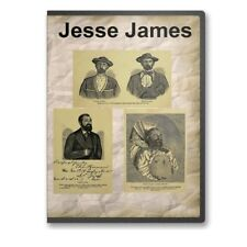 Jesse James: His Life, Associates and Robbery 9 Historic Books on CD D479