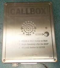 Outpost Callbox Ritron Rqx 156 Xt Outdoor Enclosure 1 Channel 1 Watt 6 Series
