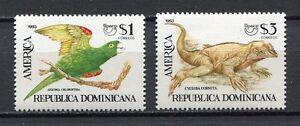 27966) DOMINICANA REP. 1993 MNH** Nuovi** Animals