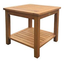 Gartentisch 50x50 Holztisch Balkontisch Beistelltisch Kaffeetisch Tisch Hartholz