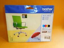 Original BROTHER LC-229XL 225XL 4er Set Multipack Unbenutzt wegen Druckerwechsel