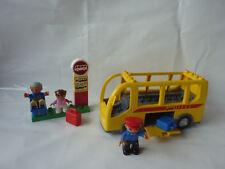 Lego Duplo Ville Bus Set 5636 - Bushaltestelle - Schulbus & TOP