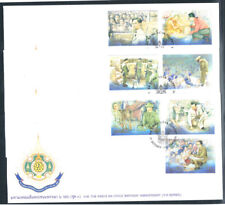 THAILAND 1999 King's Activities FDC