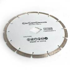 "7"" Segmented Rim Diamond Saw Blade Circular Saw Blade For Dry And Wet Cutting"