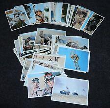 Rat Patrol 1966 Topps Trading Cards Set WWII TV Series Fn/Nm