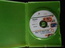 XBOX LIVE ARCADE UNPLUGGED - XBOX 360 - SOLO DISCO Y CAJA (4K)