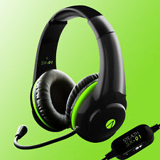 Xbox One Gaming Headset Stealth SX01 Official Headphone Mic Chat Microsoft New
