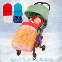Baby Sleeping Bag Footmuff Pushchair Stroller Pram Car Seat Cot Bed Blanket Cosy