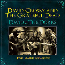 GRATEFUL DEAD & DAVID CROSBY New Sealed 2017 UNRELEASED LIVE 1970 CONCERT C