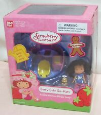 "NEW Ginger Snap Cookie Kitchen Berry Cute Go Hats 3"" Doll STRAWBERRY SHORTCAKE"