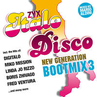 CD ZYX Italo Disco Nouvelle Génération Bateau Mix 3 de Various Artists