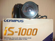 BOXED OLYMPUS IS-1000 35MM FILM BRIDGE CAMERA~35-135MM LENS~49MM FILTER (MMY13)