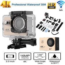 "F60R 2"" 4K WIFI Remote Action Camera 1080P HD 16MP Waterproof Sports DV Camera"