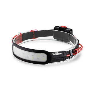 Hyper Tough 200-Lumen THIN PROFILE LED HEADLAMP Wide-Angle Light Hands-Free HQ