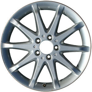 65394 Refinished Mercedes Benz R350 2006-2006 18 inch Wheel All Painted Silver