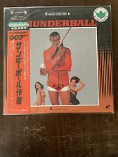James Bond 007- Thunderbal-l Laser Double Disc Japanese Sean Connery LaserVision