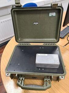 Green Peli 1450 Case Inc contents - PSU, PoE switch, Vport Video Encoder