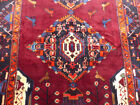 """5'3""""x13' Signed Authentic Fine Handmade wool Oriental Gallery area rug runner"""