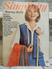 New listing Vintage Simplicity Sewing Book 1965 w patterns