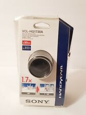 Lens Sony Vcl-HG1730A Zoom 1.7x Telephoto teleconverter 30mm High Grade