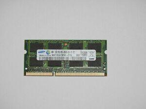 2GB Samsung DDR3 1066MHz  Notebook RAM 8500S Arbeitsspeicher 1037