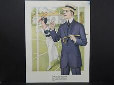 Men's Fashion, Suits, Clothing, 1920's Catalog, One Page, S1#02