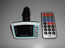 Car MP3 Player Wireless FM Transmitter USB,micro sd and SD card slot....(white)