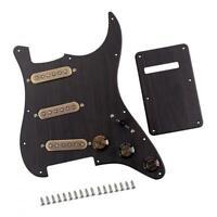 Loaded Alnico V Pickguard Back Cover Set Rosewood for ST Electric Guitar