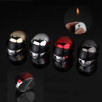 Motocycle Helmet Lighter Refillable Cigar Cigarette Adjustable Flame Lighters