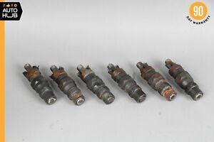 86-87 Mercedes W124 300TD 300SDL 300D Diesel Engine Fuel Injector Set of 6 OEM