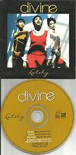 DIVINE lately w/ RARE MASTER MIX & INSTRUMENTAL LIMITED CD Single 1998 USA