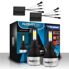 Nighteye 9000LM H7 LED Headlight Kit Light Bulb + Canbus Anti-Flicker Error Free